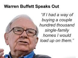 warren-buffettBuyingHouses