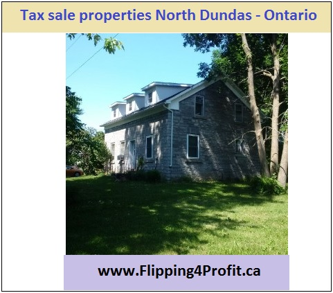 Tax sale properties North Dundas Ontario